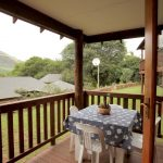 Veranda with view of the mountains