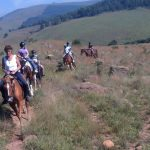 House riding at BBK Trails